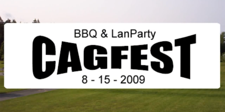 Flashback Friday: CAGFest 2009!