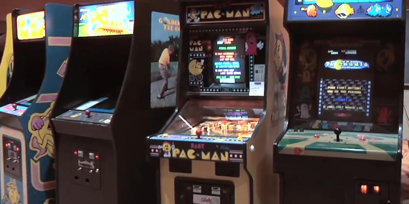 Arcade Gaming Shrine Fi