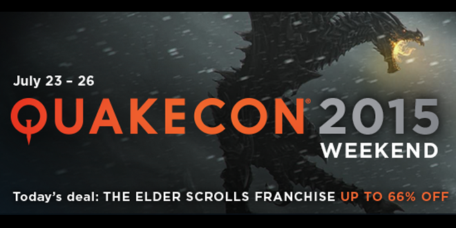 Steam Quakecon 2015 Sale: July 23rd to 26