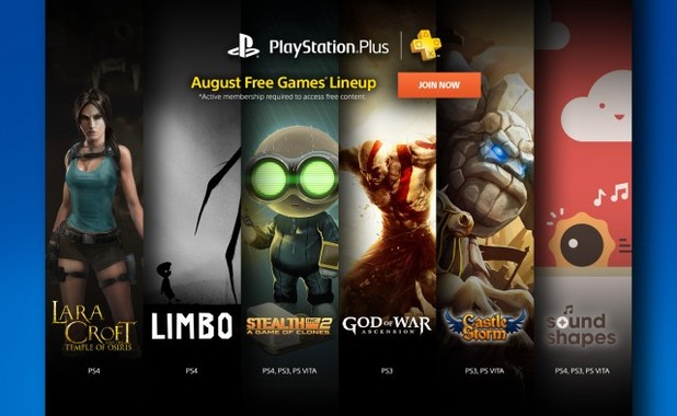 August 2015's PS Plus games announced – what do you think?