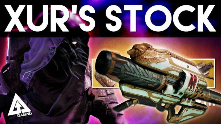 Destiny – Xur SELLING GJALLARHORN! August 14th