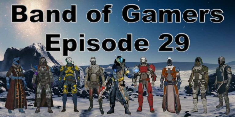 Our PlayStation and PC year in review in the Band Of Gamers Podcast Episode 29