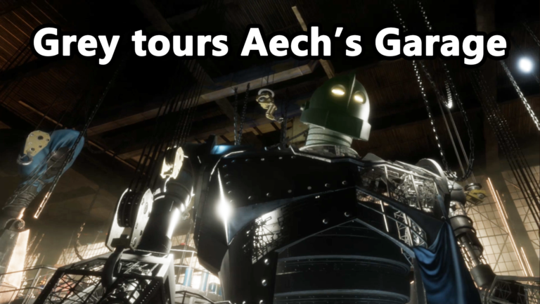 Touring Aech's Garage from Ready Player One