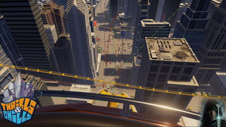 Thrills and Chills VR: Yellow Coaster