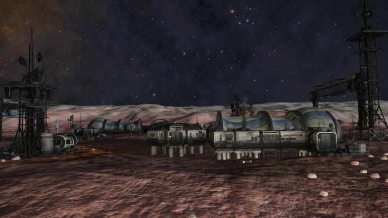 """INRA Base, Almeida Landing: """"Reversed Engineered"""" Audio Logs from Elite Dangerous"""
