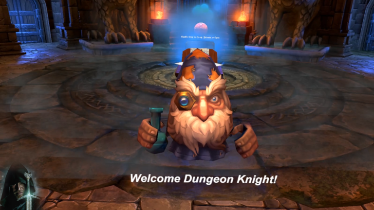 VR Dungeon Knight's Intro and Tutorial