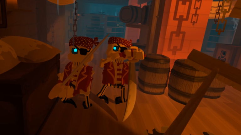 Grey and Ryder play Rec Room and the Isle of Lost Skulls
