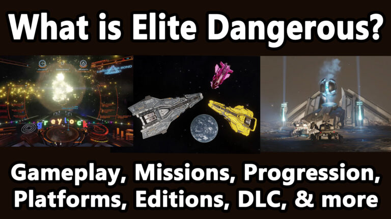 What is Elite Dangerous? Gameplay, Missions, Progression, DLC, and more! (2019)