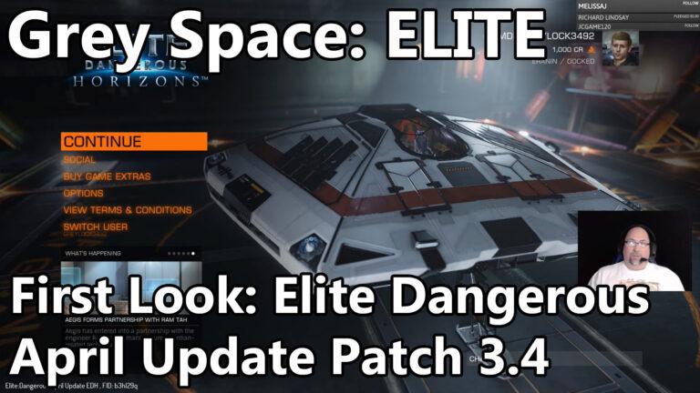 Grey Space: Elite Dangerous April Update First Look