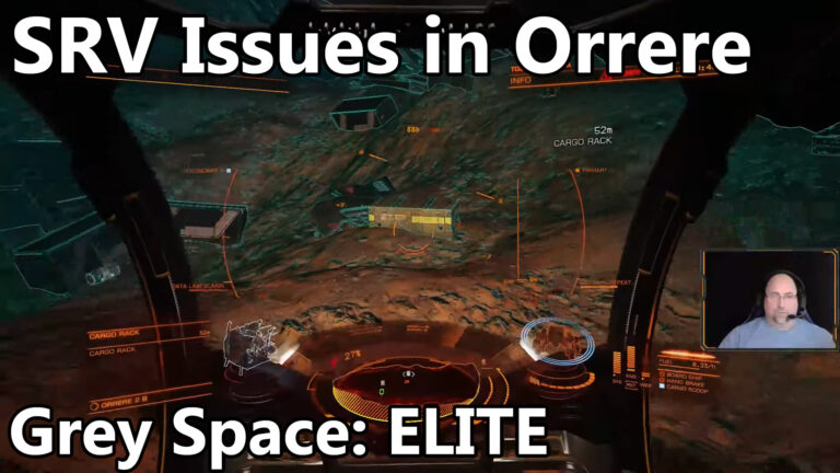 Grey has SRV issues in Orrere today on Grey Space