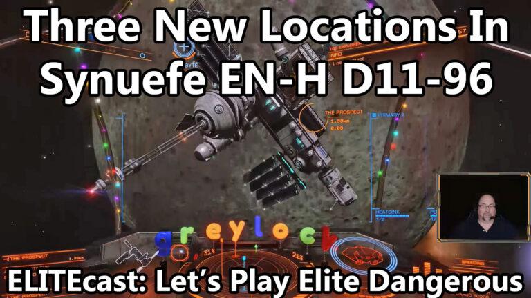 Exploring New Interstellar Initiatives locations this week on ELITEcast