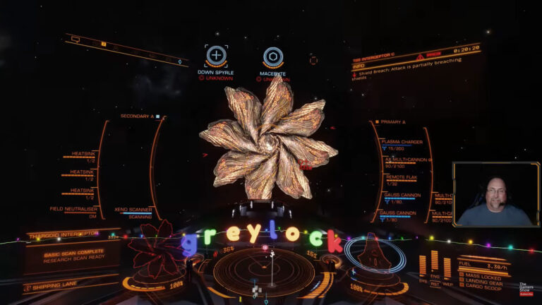 Thargoid Hunting NHSS 5 and 6 this week on ELITEcast