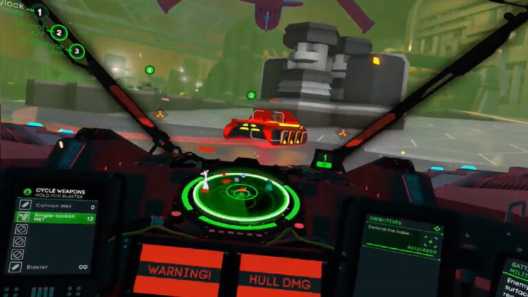Battlezone VR – Tanksgiving Comes Early For Our Three Tank CMDRs (E3)