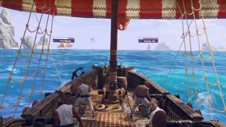 Furious Seas VR Multiplayer Alpha: Four Pirates vs The World