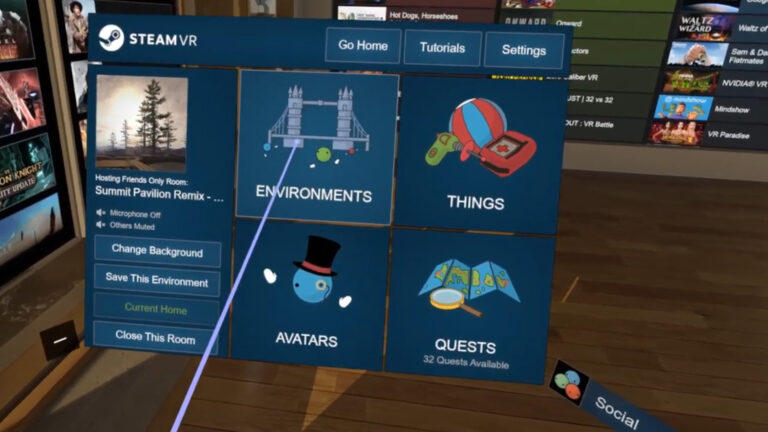 Steam VR Environments Explored in some Misadventures in VR!