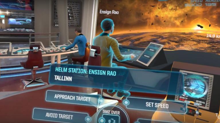 Star Trek Bridge Crew VR – Prologue Shakedown Mission (E1)