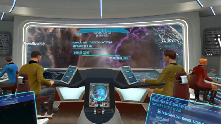 Star Trek Bridge Crew VR – Our CMDR's First Two Missions (E2)