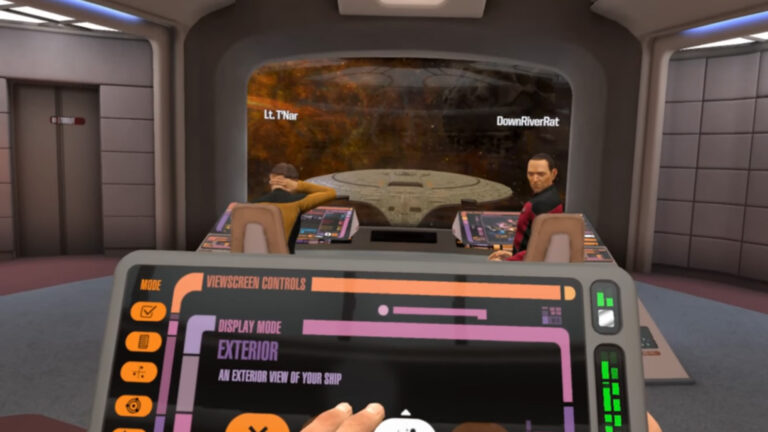 Star Trek Bridge Crew VR – Our CMDR's Try Missions In Each Starship (E4)