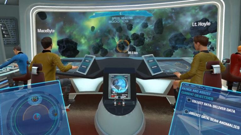 Star Trek Bridge Crew VR – Our CMDR Patrol In The Aegis (E5)