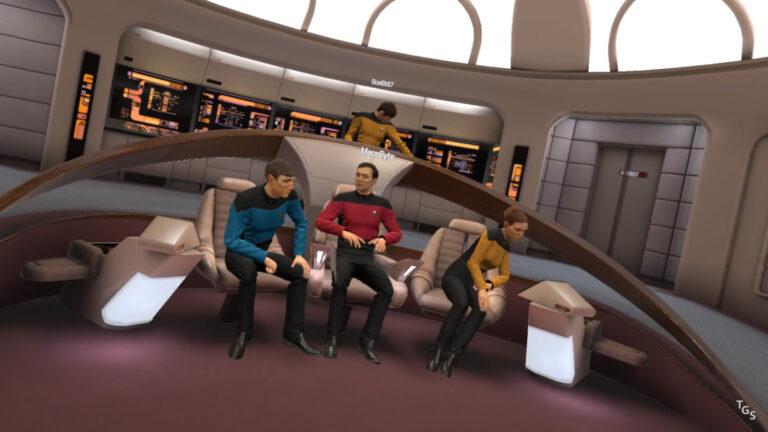 Star Trek Bridge Crew VR – Our CMDR's Revisit Prologue, Then TNG Missions (E6)