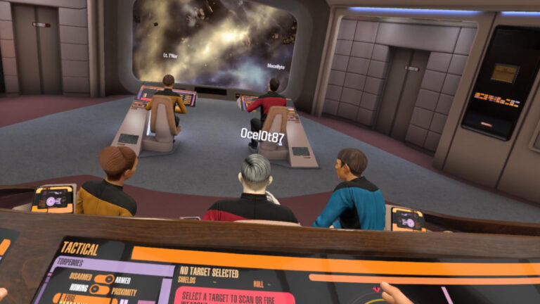 Star Trek Bridge Crew VR – Our CMDRs Patrol and Defend (E9)