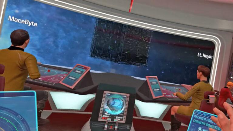 Star Trek: Bridge Crew Rescue, Research, and Borg missions,