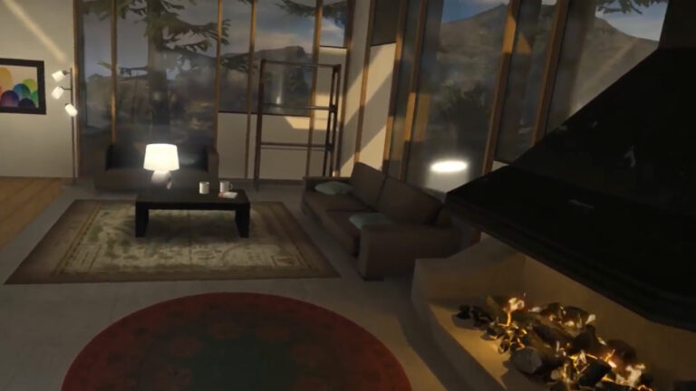 Steam VR Home Explored