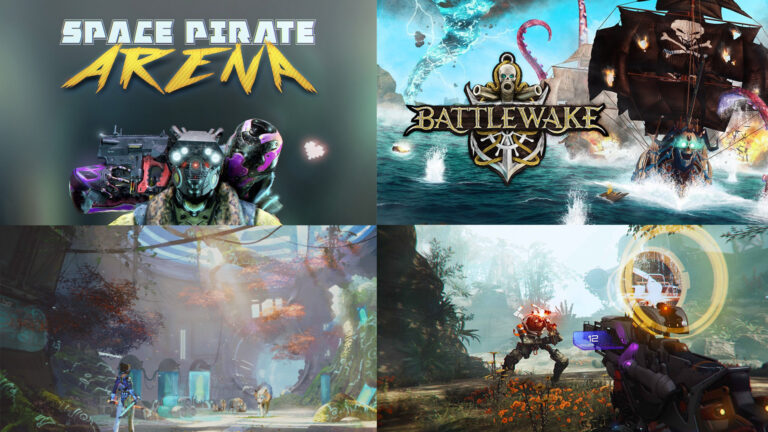 Stormland, Battlewake, Zenith, Space Pirate Arena, and this week's VR news