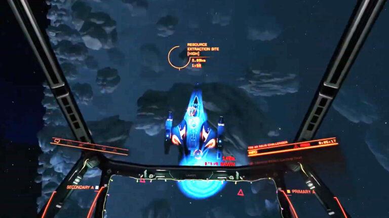 Elite Dangerous in VR: Passengers and Combat