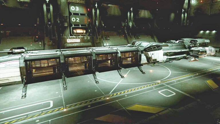 We Play Star Citizen: Checking out the 2019 Expo and two large ships